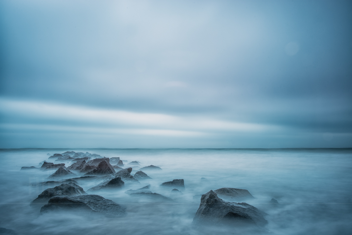 stormy water at vilano beach free desktop photo