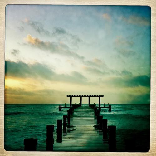 Playa de Carmen Mexico, taken with my 1st gen iphone.