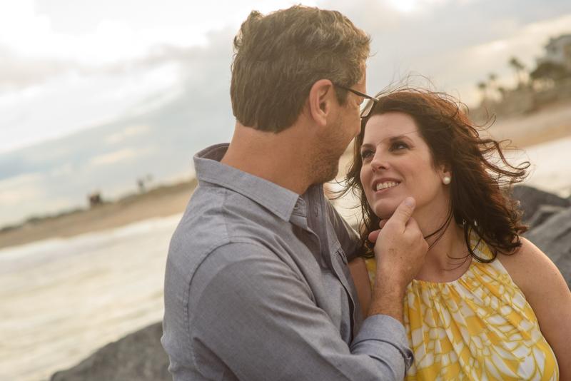 Heather and Greg Vilano Beach