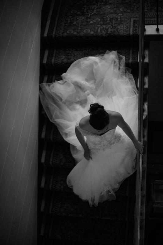 sara-bridal-photo-stairs-epping-forst