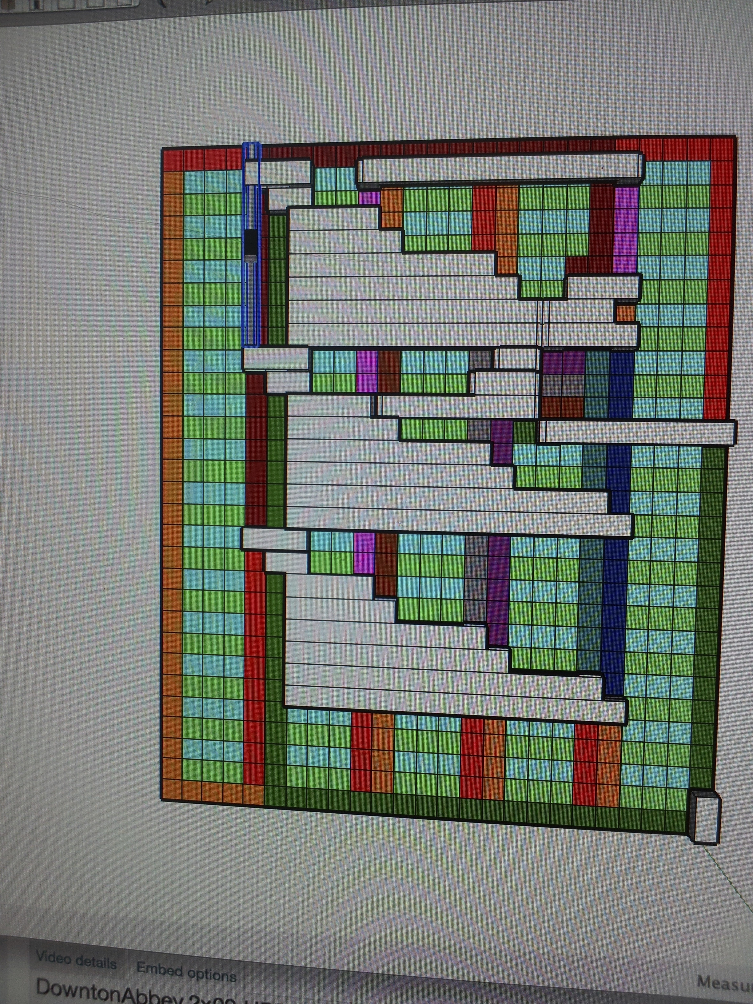This is a diagram I used to determine the routing of the circuit board I needed to create.