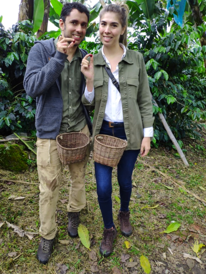 From Paula Echeverria y Júlian Rojas, IWCA Colombia (in formation): Nacimos en el corazón del Eje Cafetero Colombiano, para nosotros cada grano de café es tradición y generador de sueños.  Translated: We were born in the heart of the Colombian Coffee Axis, for us each coffee bean istradition and generator of dreams.