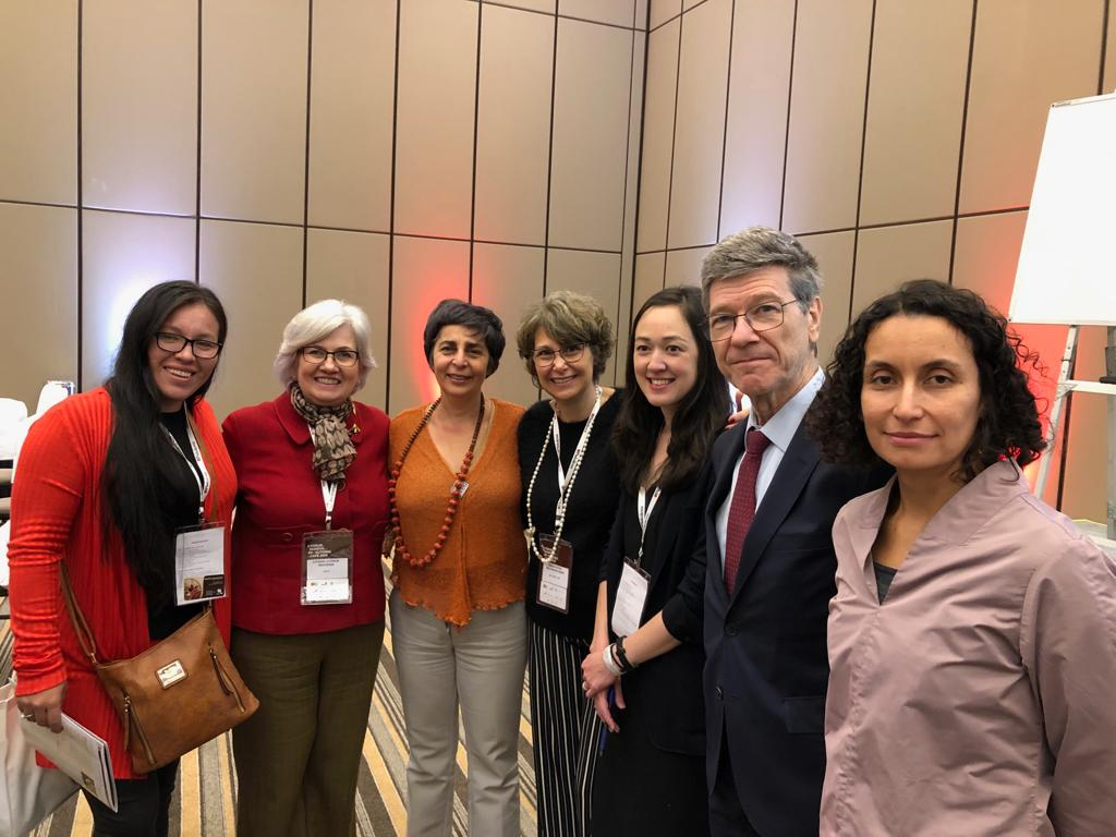 Representatives from IWCA Brazil with Keynote Speaker Jeffrey Sachs and Marcela Umana (ICO).jpeg