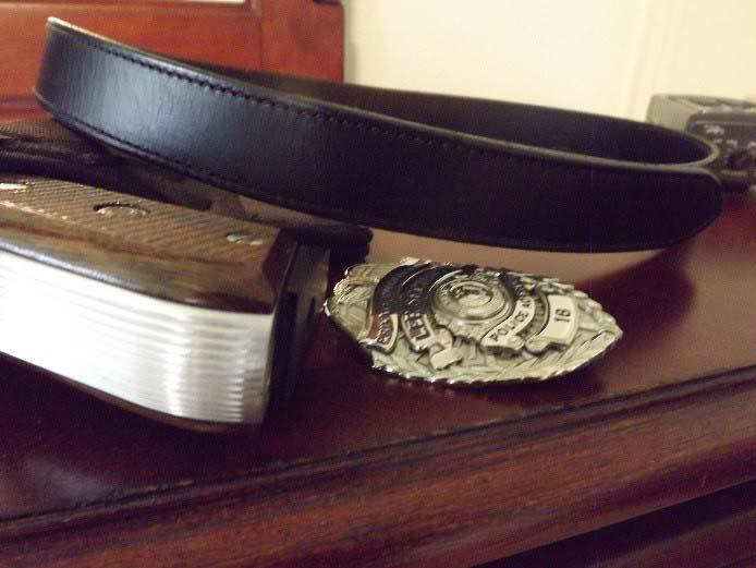 Leather Velcro Uniform Belts