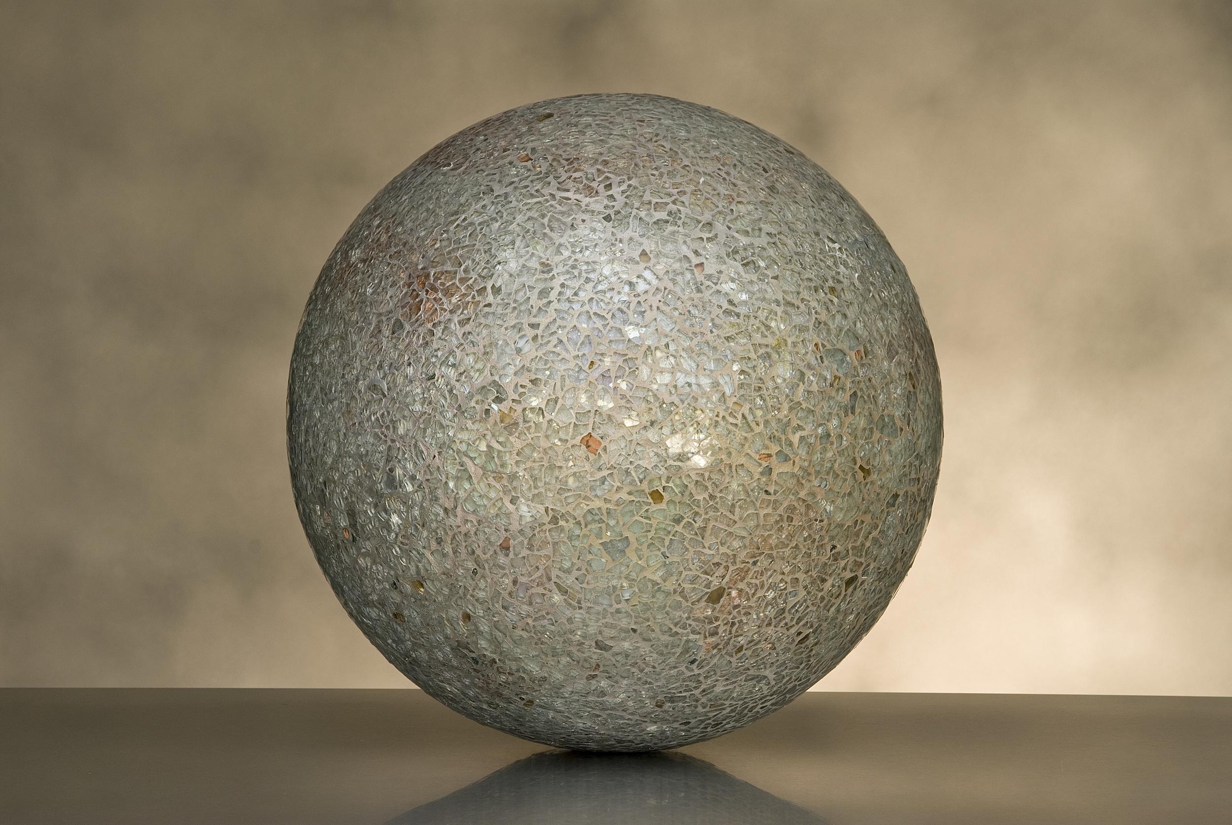 Beige Irredescent Sphere