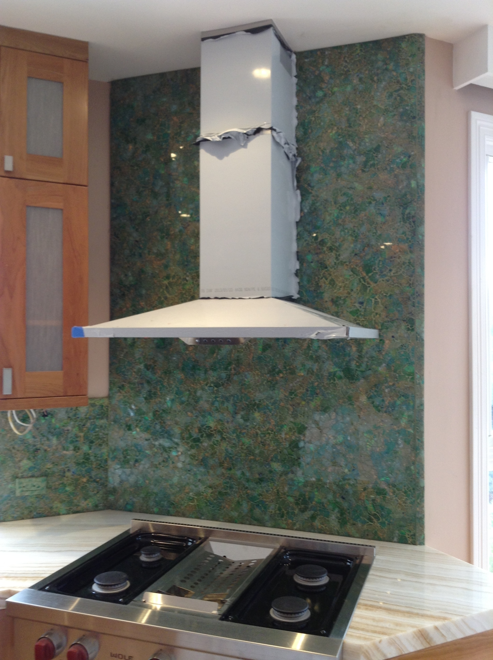"""Garden"" Backsplash"