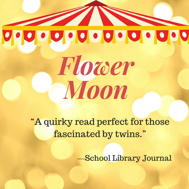 """""""A quirky read perfect for those fascinated by twins."""" ―School Library Journal.png"""