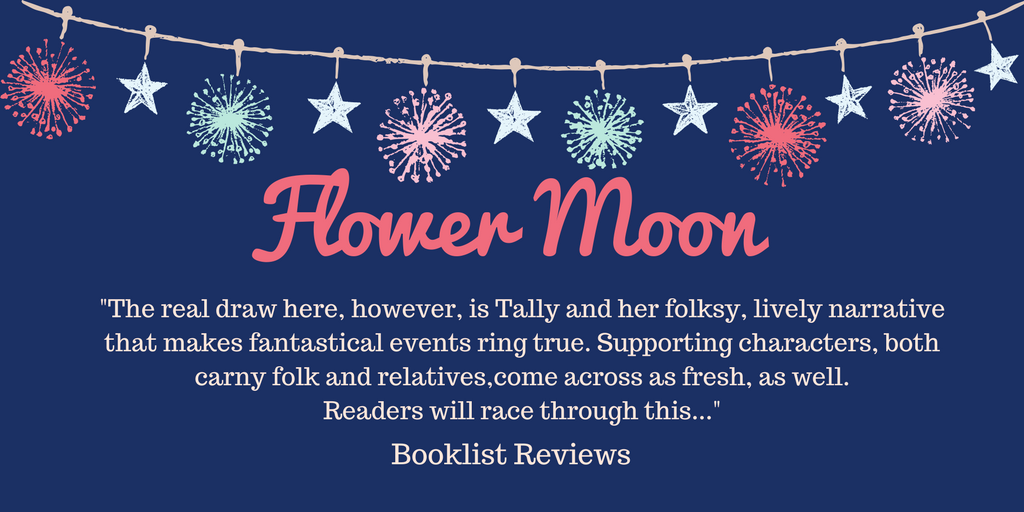 The real draw here, however, is Tally and her folksy, lively narrative that makes fantastical events ring true. Supporting characters, both carny folk and relatives, come across as fresh, as well. Readers will race t (1).png