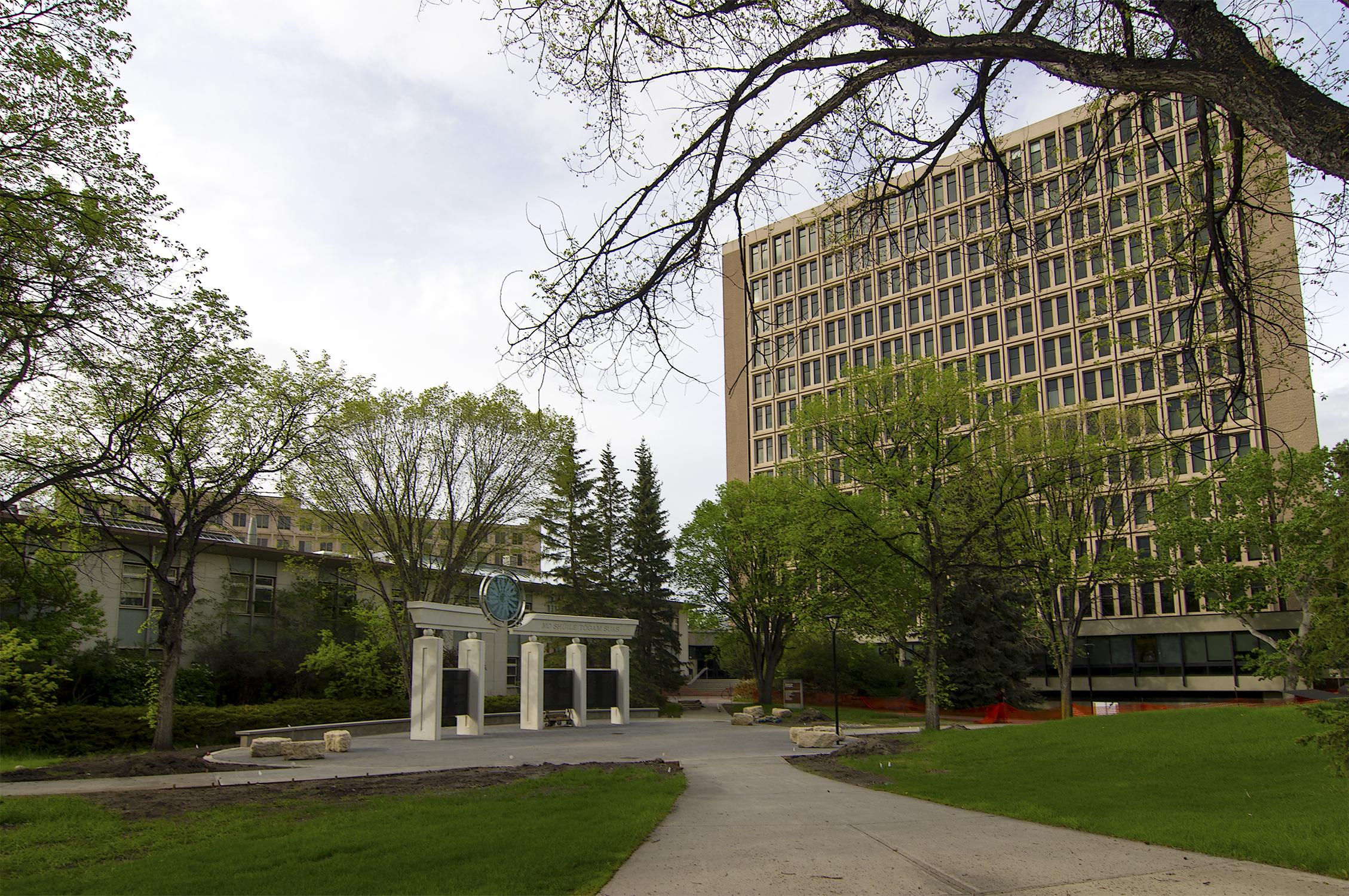 McCaig Donor Monument