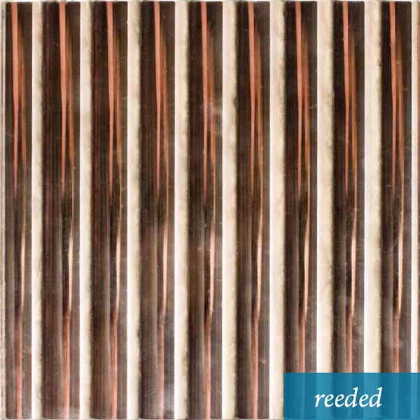 Reeded Bright Silver    See an install