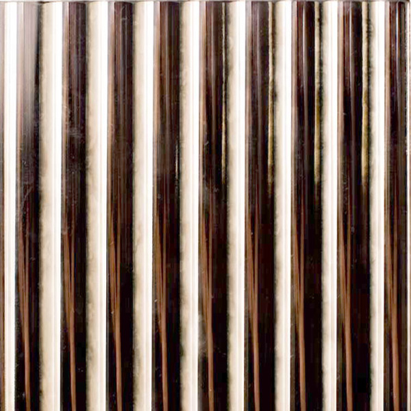 Reeded Antique Silver