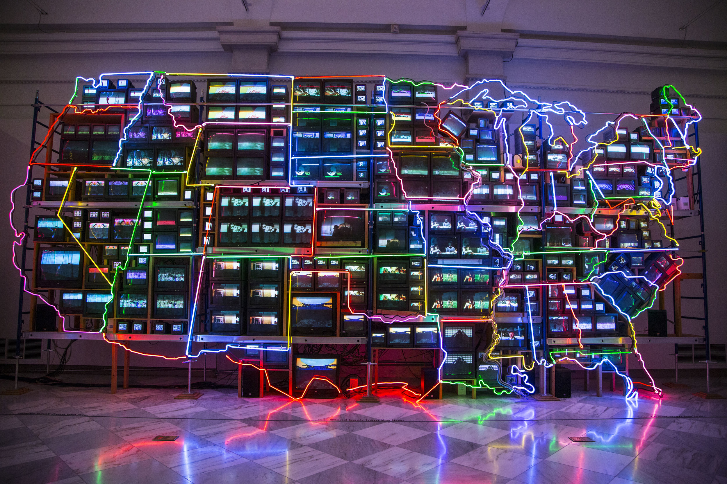Nam June Paik Smithsonian Art Museum, Washington DC 2016