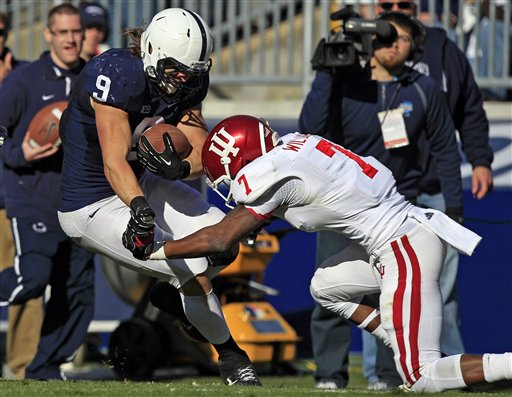 Indiana will be taking the Nittany Lions head on in Week Five.