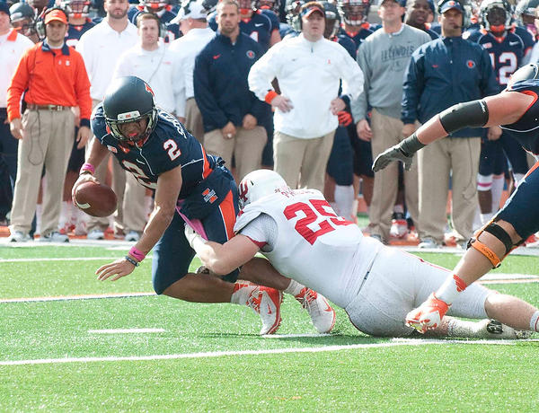 The Hoosiers defense kept the Illini offense at bay in a 31-17 win in Champaign.