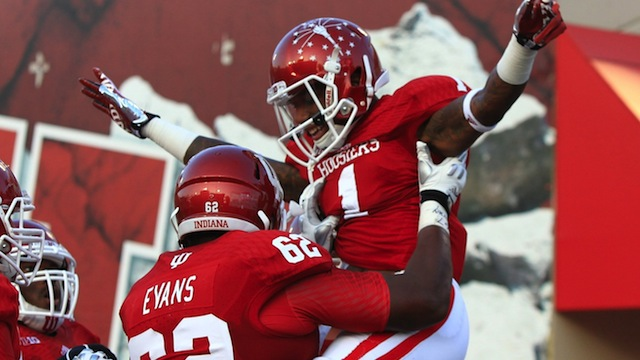 The Hoosiers celebrated early and often in Week One as they set a Memorial Stadium Record, 73-points.