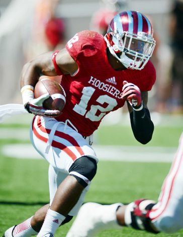 The biggest surprise of the season offensively for the Hoosiers has been the dynamic Tevin Coleman