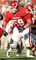 Indiana loses another offensive lineman for the year.