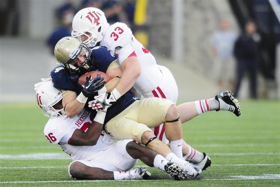 Getting multiple tacklers to the ball is key for Hoosier success against Michigan