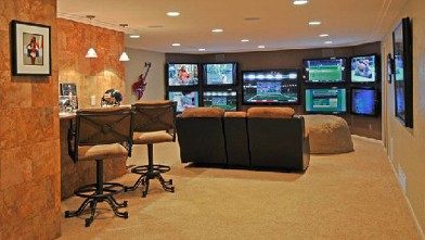 Just because the Hoosiers aren't playing this weekend doesn't mean the man cave should be empty.