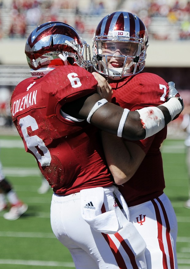 If Indiana wants to celebrate a homecoming win on Saturday the Hoosiers will have to slow down Minnesota's running attack