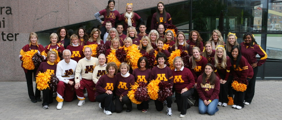 As far as hot Golden Gophers cheerleaders go, this was literally the best I could do guys...