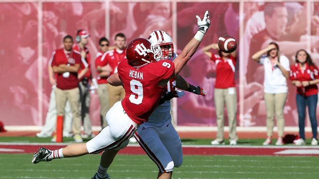 Greg Heban will need to make some big plays if the Hoosiers are to score an upset in Madison