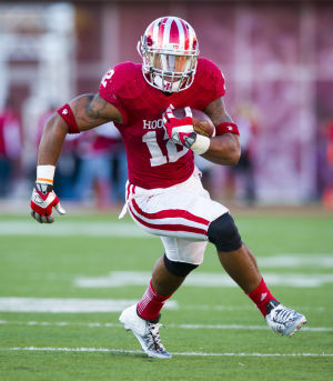 Stephen Houston and the Hoosiers invade Columbus this Saturday.