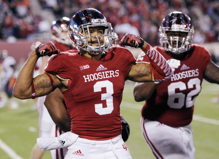 Cody Latimer and the Hoosier offense will try and over power the Buckeye defense in Columbus on Saturday