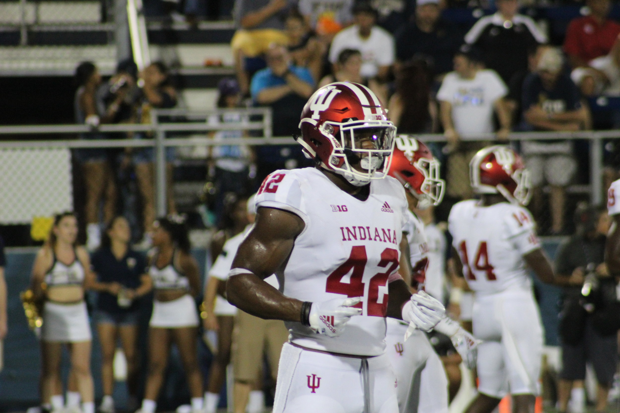 Marcelino Ball is one of the elder statesmen in the IU secondary  Image: Sammy Jacobs Hoosier Huddle