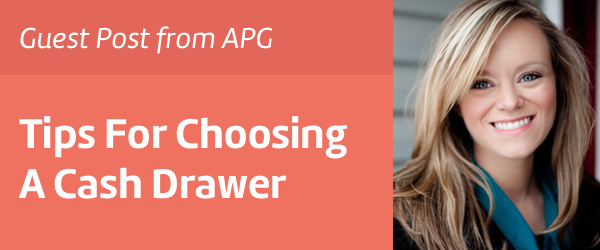 Change partners with APG Cash Drawer, LLC.