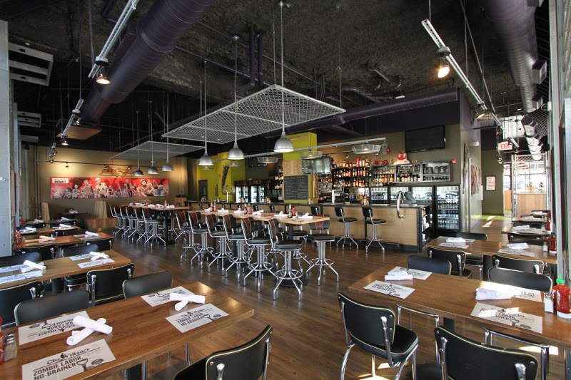 Zombie Burger + Drink Lab, recently named one of America's top ten restaurants to get a burger.