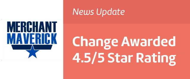 Change restaurant app awarded high POS rating