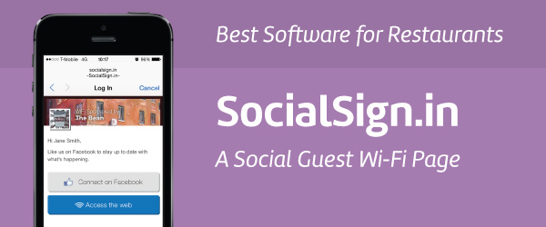 SocialSign.in Guest Wi-Fi