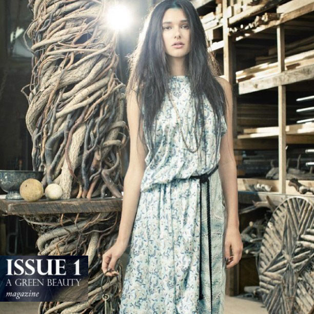 Alena dress in forest paisley $275
