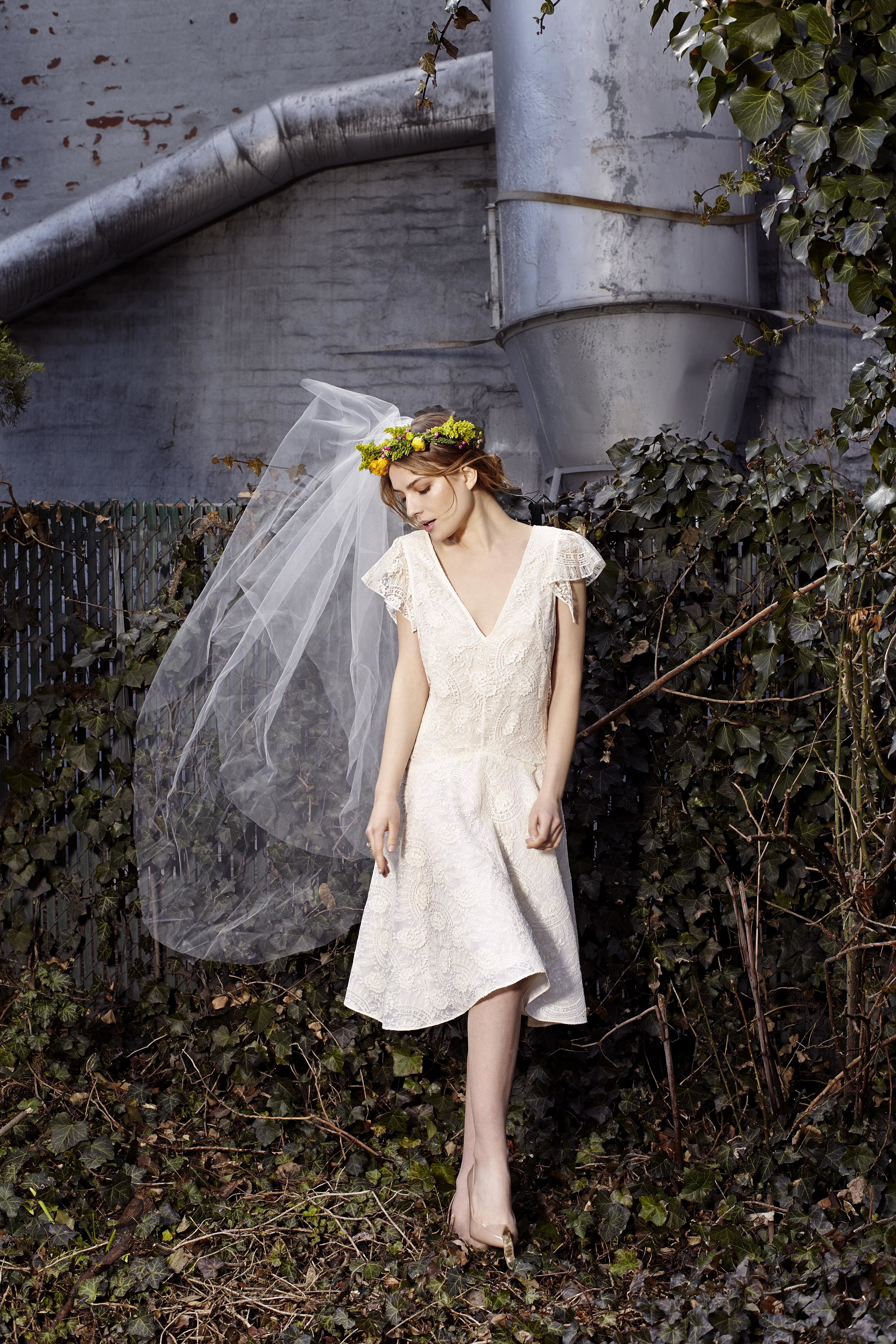 Cecil Demi Gown, Bridal Collection