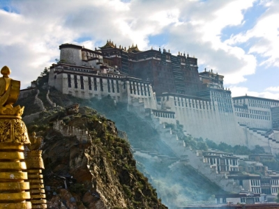 Tibetan background