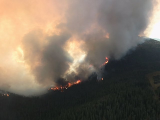 July 31, 2017 Photograph By Via B.C. Wildfire Service  Engulfed in the news of this fearful time, I began to think about the symbolism of what we can see, and what we can't as we travel through our lives. What do we know is just beyond the haze? Where are the fires that burn? Where does the smoke envelope us?