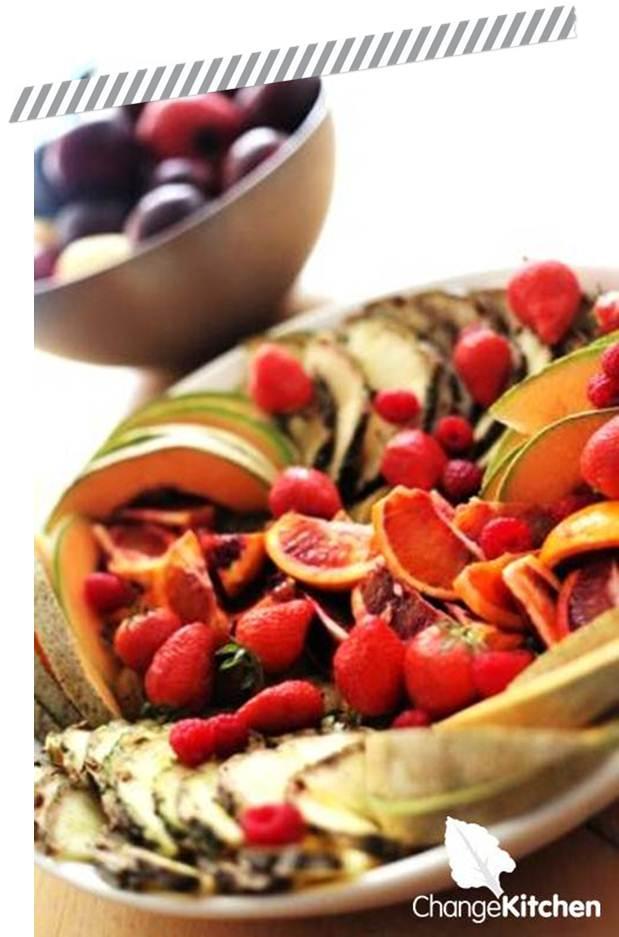 Change Kitchen : Delicious Seasonal Fruit Platter