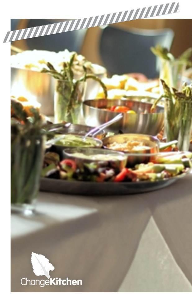 ChangeKithen: 'Serve Yourself Platter' Corporate Buffet
