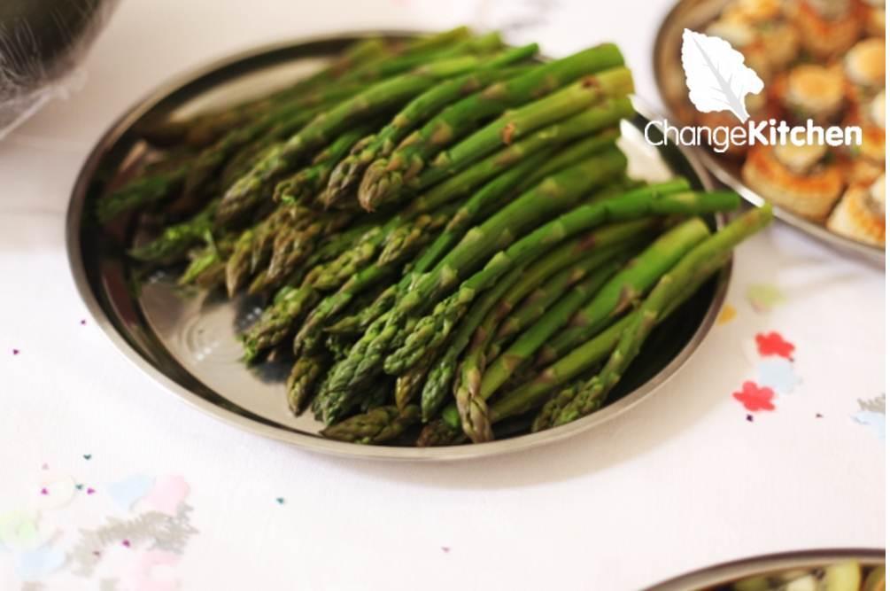 ChangeKitchen : delicious evesham asparagus spears