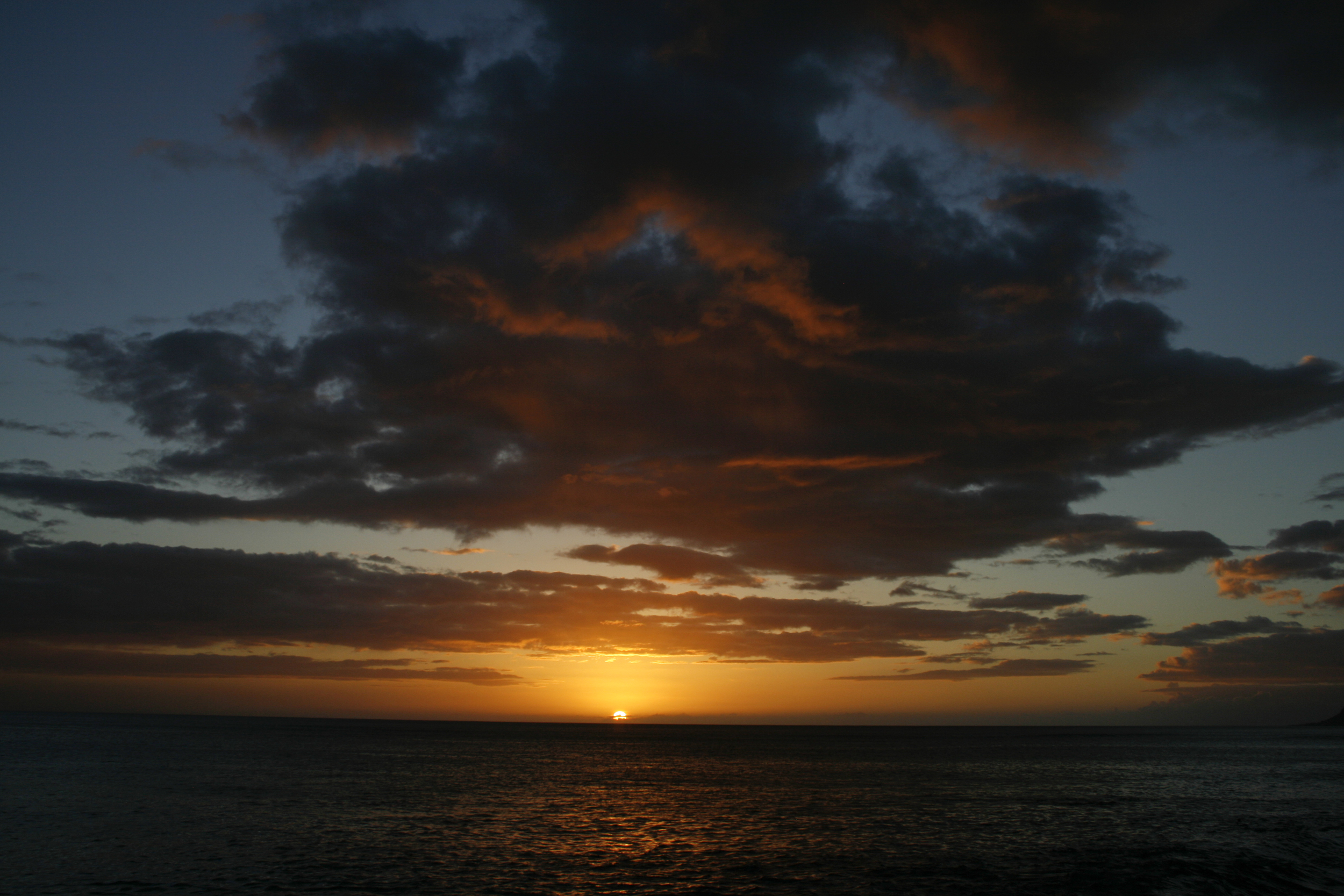 One of the most gorgeous sights I've ever laid eyes on... The Hawaiian Sunset.