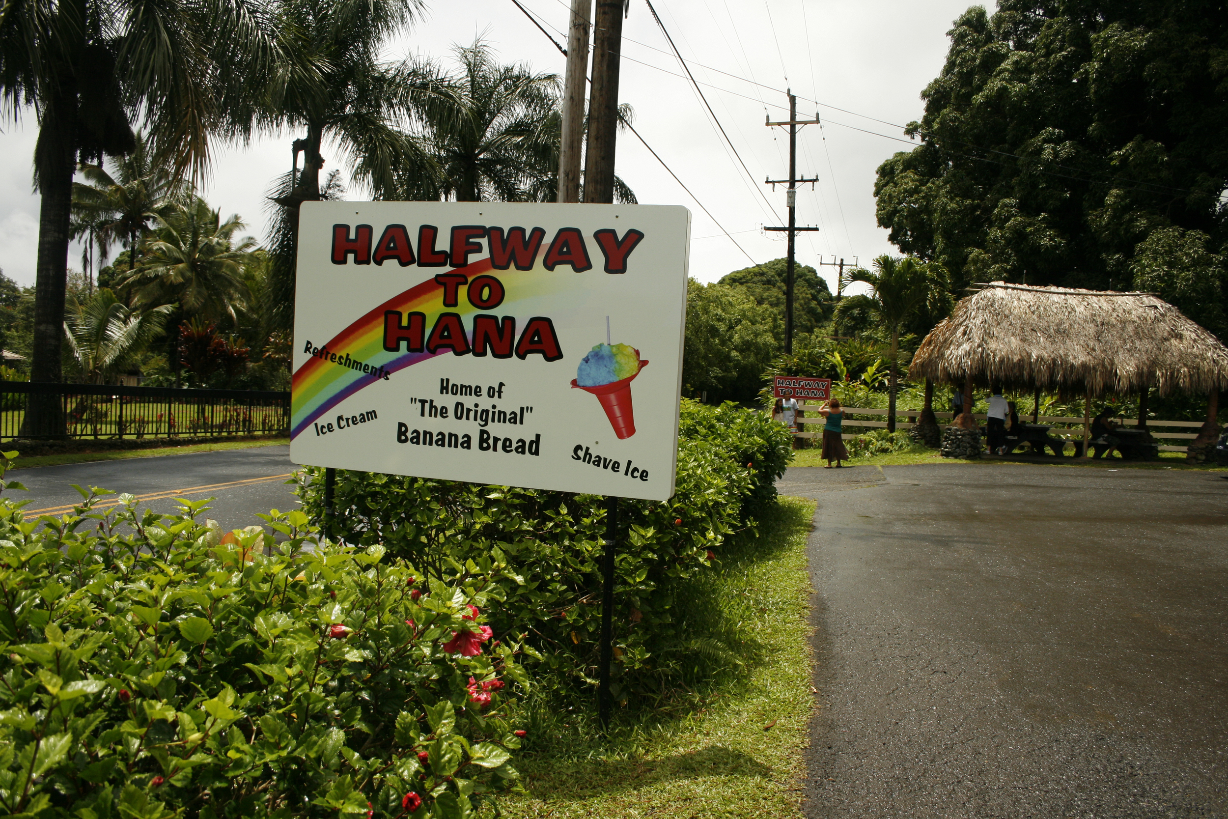 And then there was the Road to Hana. If anyone has ever heard of this adventure you absolutely must drive it yourself. There are over 600 hairpin turns and 54 one lane bridges. The sights are incredible along the way. Also, this little stop has amazing banana bread!