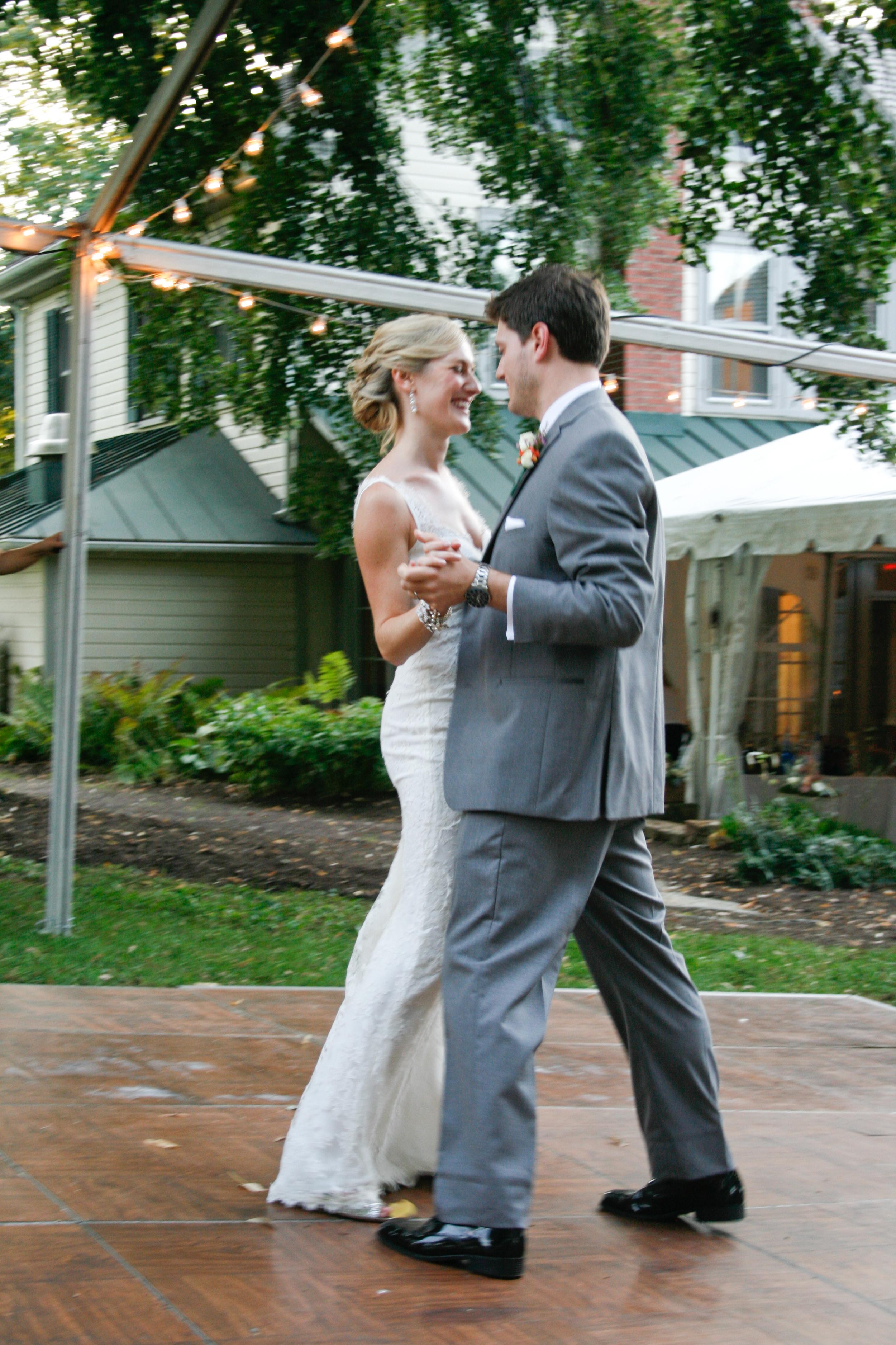 The very happy couple. Congratulations Kaci and Matt <3