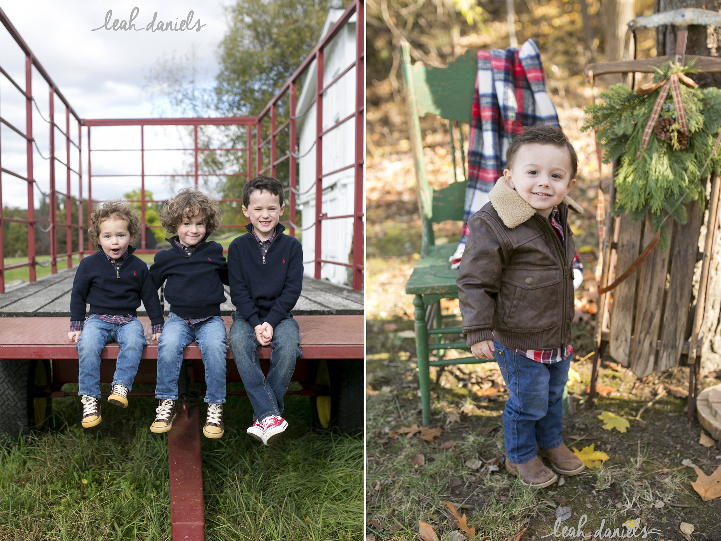 These boys belong to some of my favorite girls! How adorable are they!?