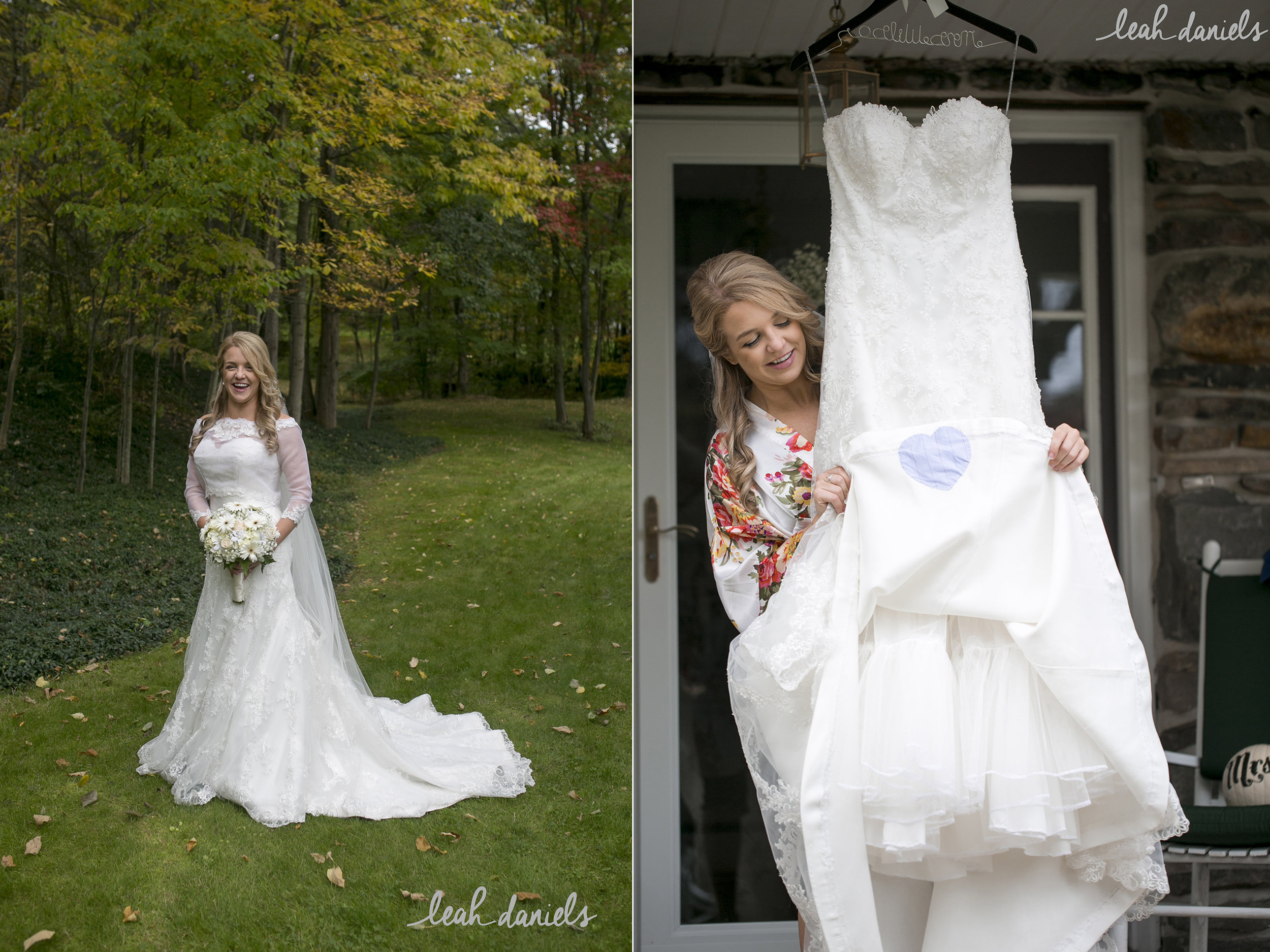 The face of pure joy on your wedding day!