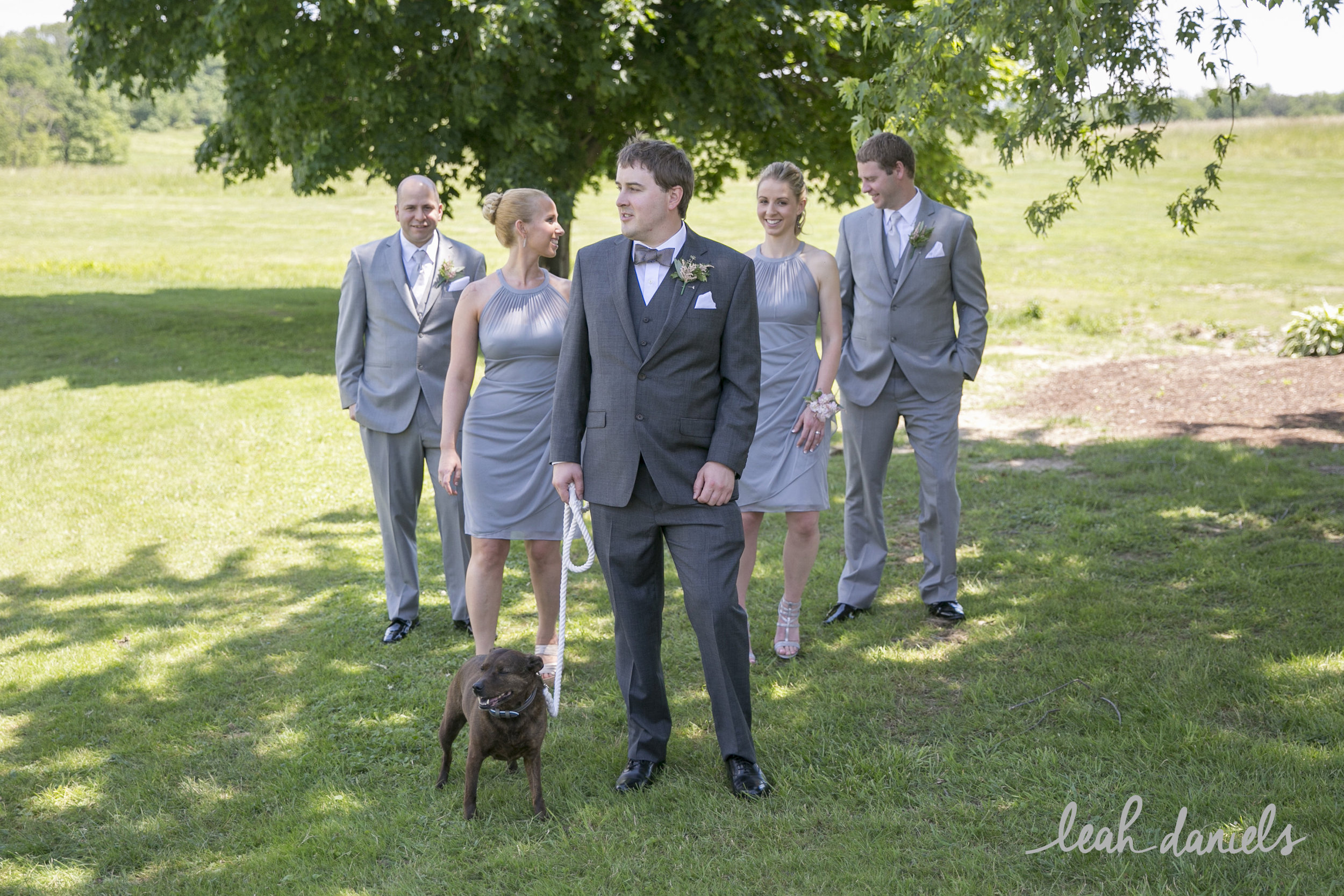 I love that this Groom, Keith,included everyone important to him !