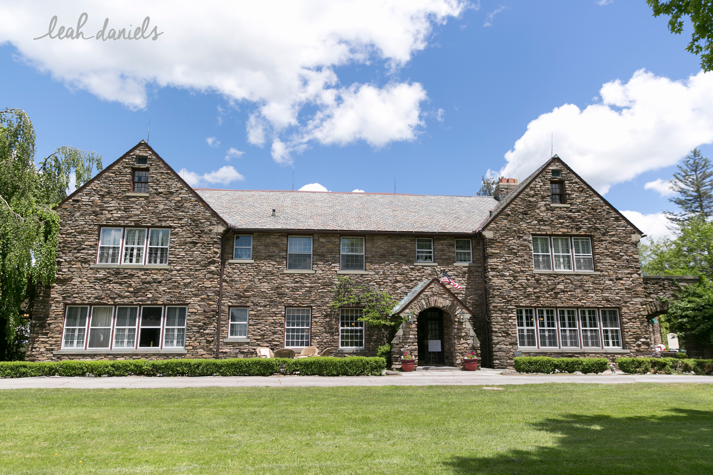 The beautiful Fern Hall Inn was the setting for Caitlin and Jon's Wedding Day.
