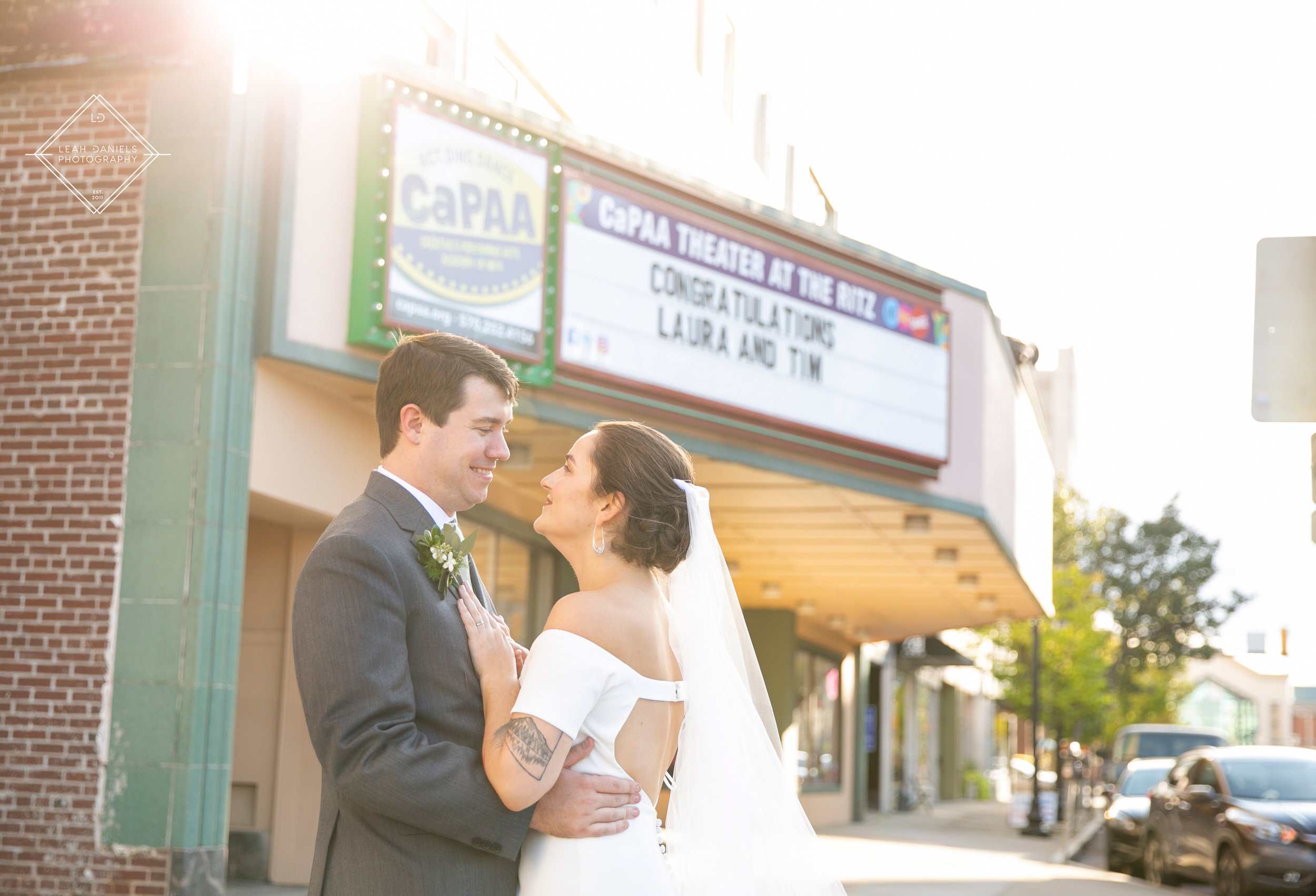 Scranton Wedding Photographers - The Ritz theater
