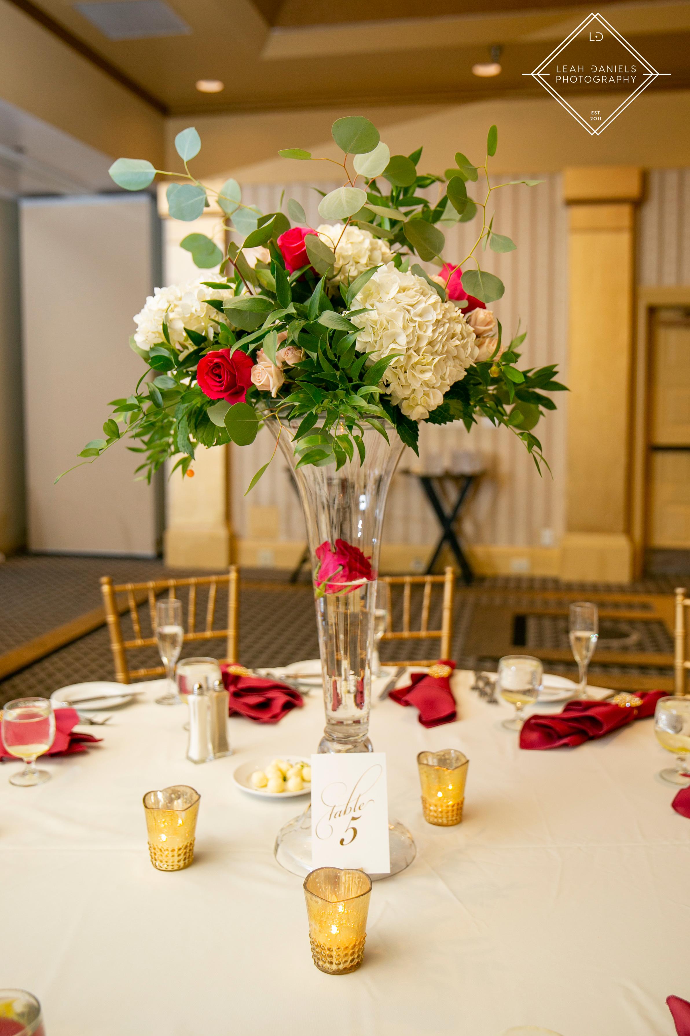 Radisson Scranton Wedding - Centerpiece Ideas