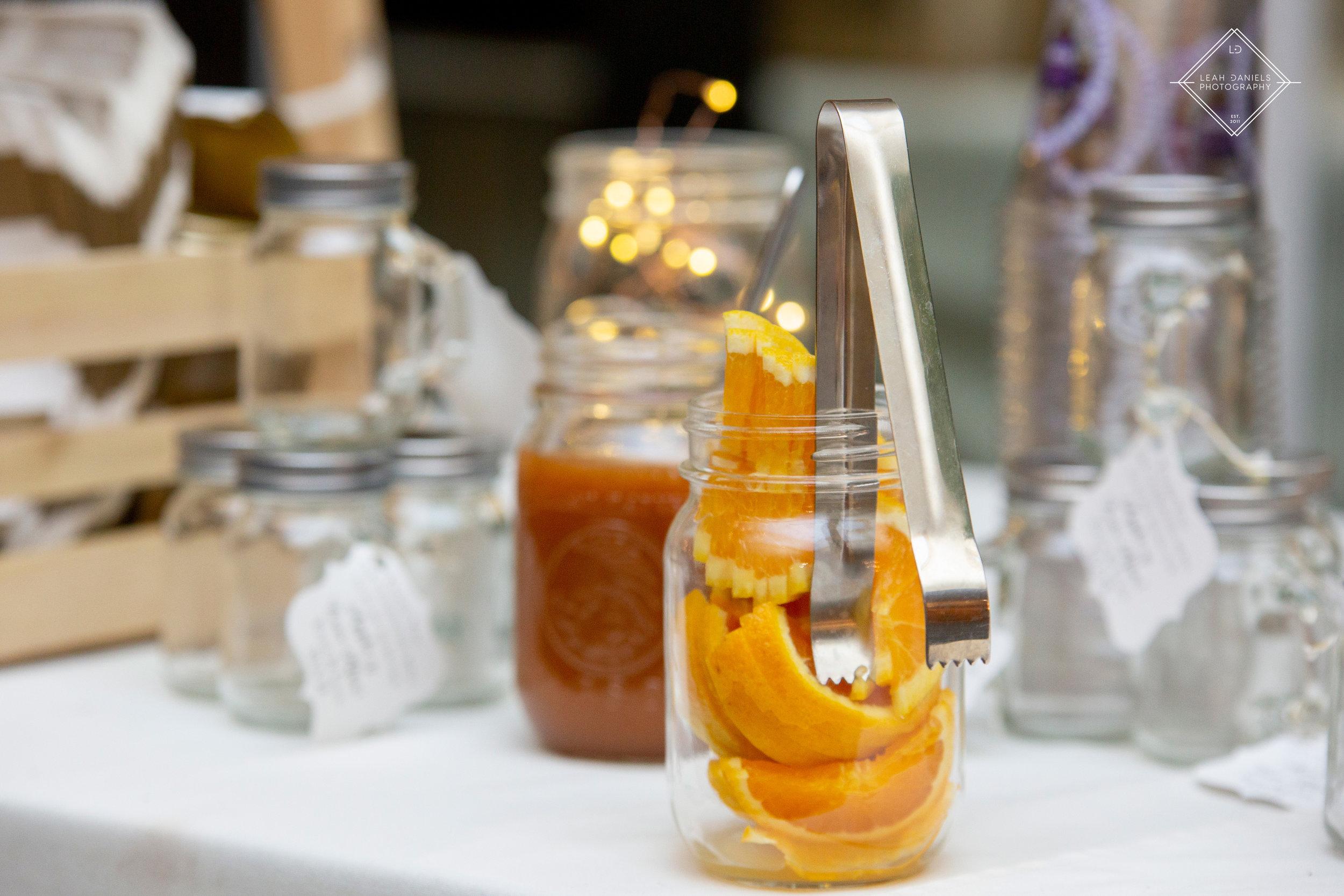 Radisson Scranton Wedding - Apple Cider Bar